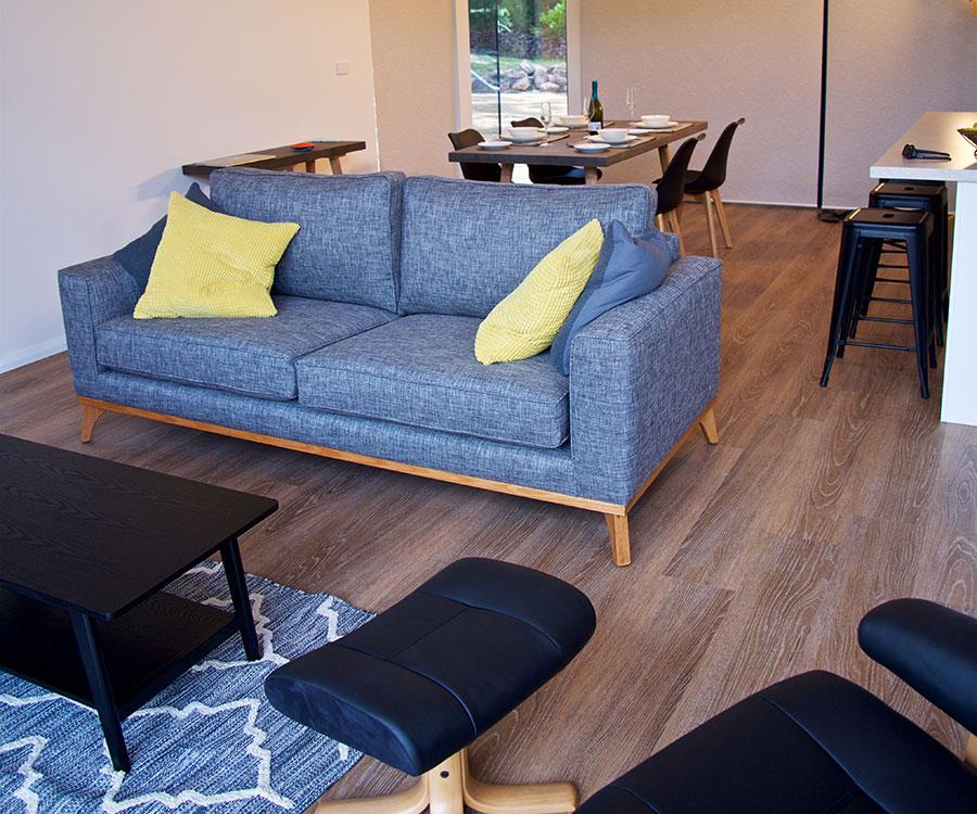 Lounge at Grampians Villas